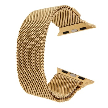 Milanese Loop Magnetic Rostfritt  apple watch armband 42/44 mm Guld