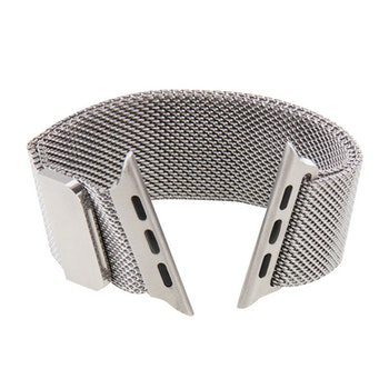 Milanese Loop Magnetic Rostfritt  apple watch armband 38/40 mm Silver