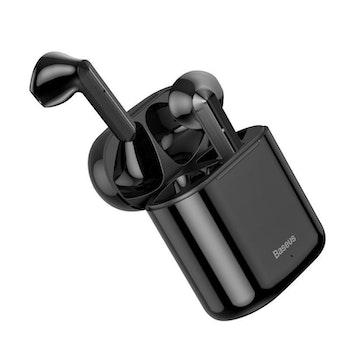 Baseus Encok W09 BT 5.0 TWS Touch Svart