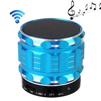 Bluetooth minihögtalare S28 Med plats för minneskort. Grön