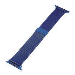 Milanese Loop Magnetic Rostfritt  apple watch armband 38/40mm Blå