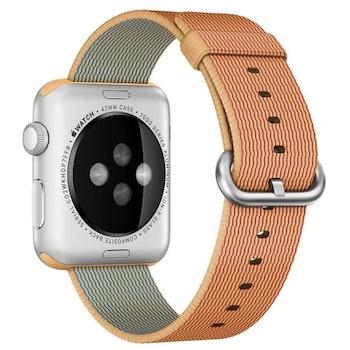 För Apple Watch 42/44mm Woven Nylon Klockarmband