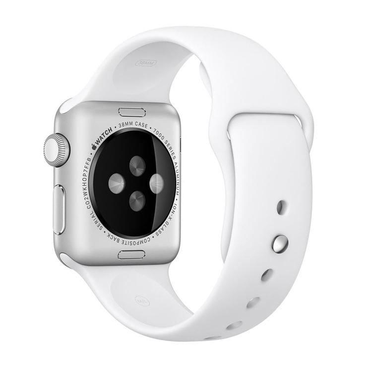Sportigt Klockarmband Till Apple Watch 42/44 mm Vit