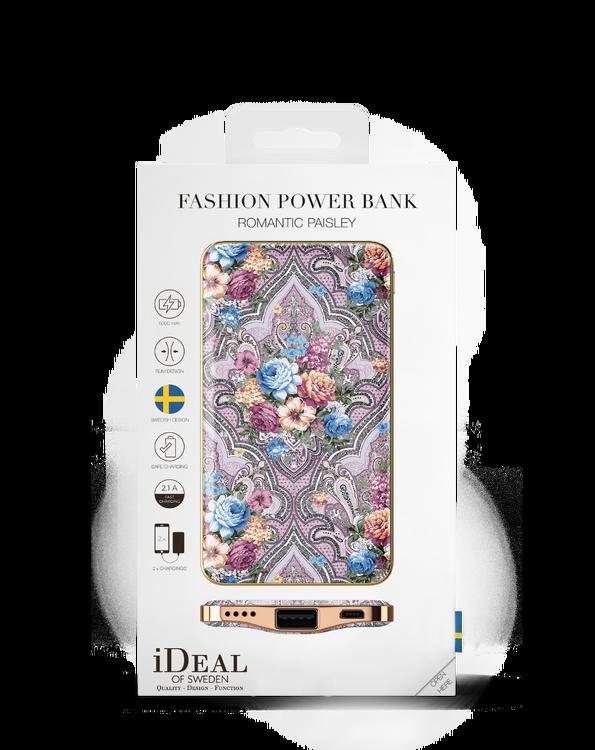 iDeal Of Sweden Fashion Power Bank Romantic Paisley 5000mAh
