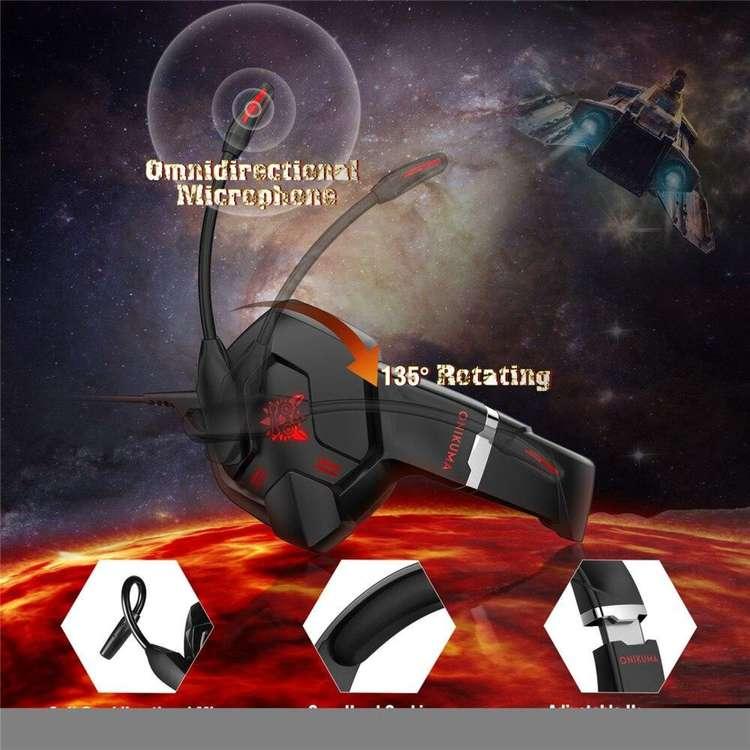 Onikuma A6 Gaming Headset 7,1