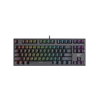 Havit KB857 TKL RGB Mekaniskt tangentbord Nordiskt