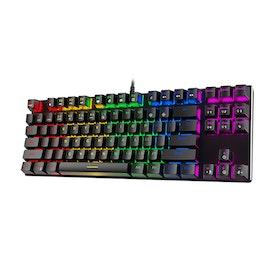 HAVIT HV-KB435L RGB Backlit mekaniskt tangentbord