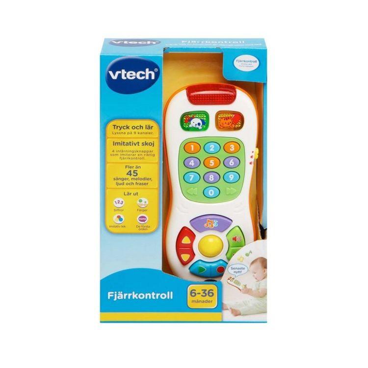 Vtech Baby fjärrkontroll med ljus och ljud