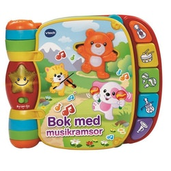 Vtech Baby bok med musikramsor