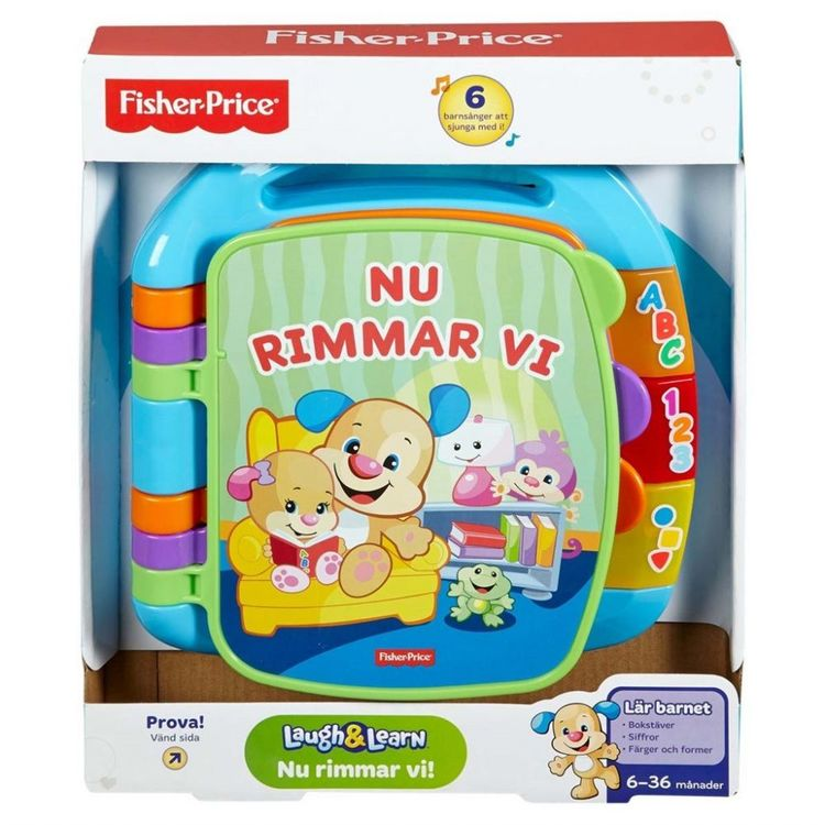Fisher Price Laugh & Learn Storybook Rhymes