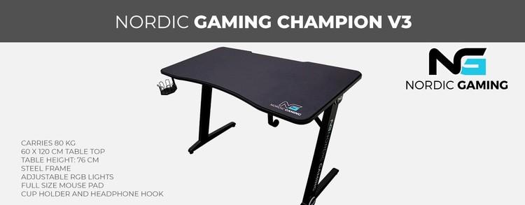 Nordic Gaming Champion V3 Gaming Bord