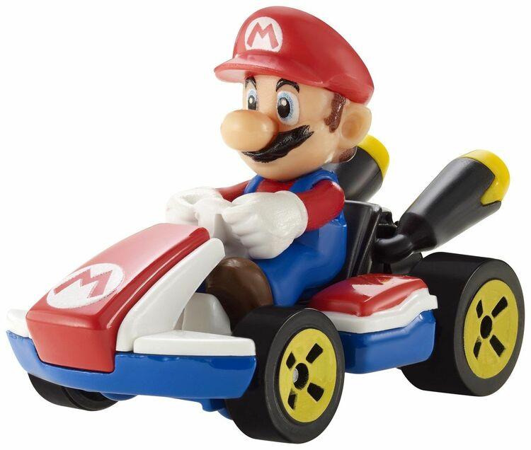 Hot Wheels Mario Kart Standard Kart Vehicle