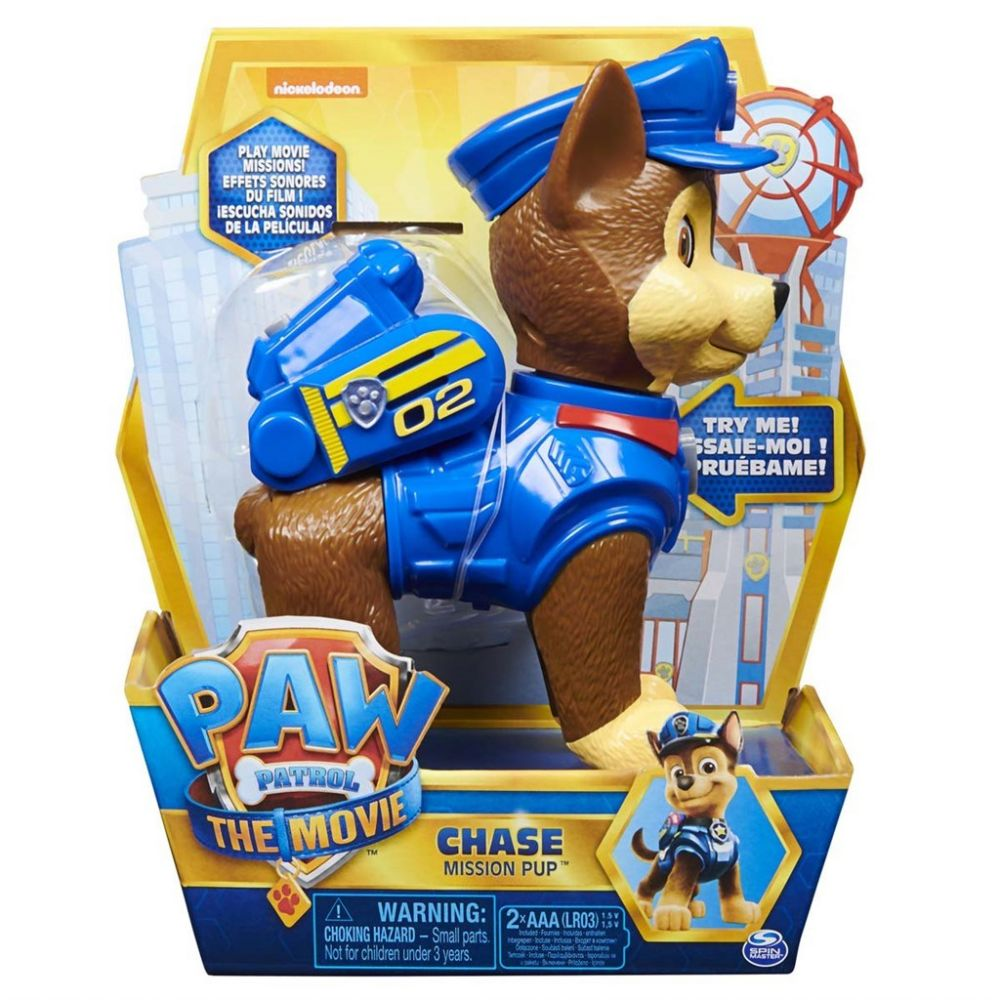 Paw Patrol Movie Interactiv Figur Chase