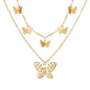 Butterfly gold B
