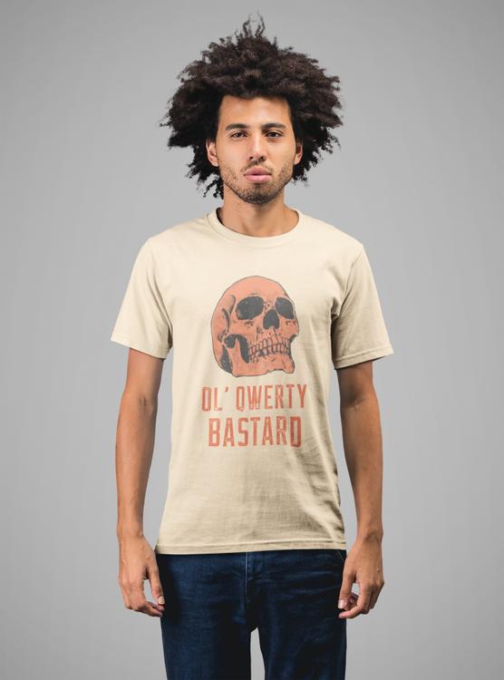Ol' Qwerty Bastard - Tshirt