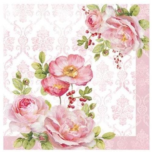 """Servetter """"Floral Damask"""""""