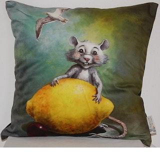 """Kuddfodral """"Vincent och citronen"""""""