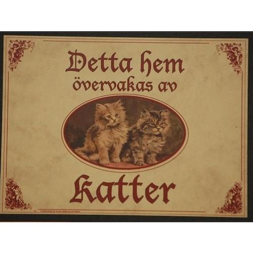 "Tavla (kloka ord) ""Vakande katter"""