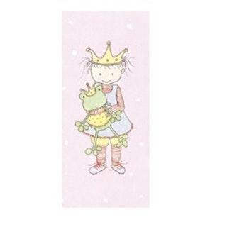 """Barnkort """"Prinsessa"""""""