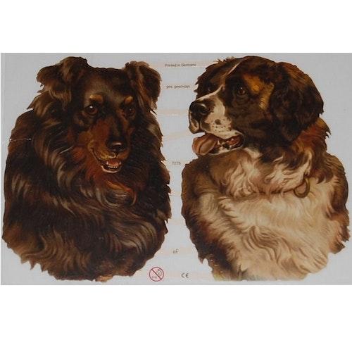 """Bokmärken """"Hundar 1"""""""
