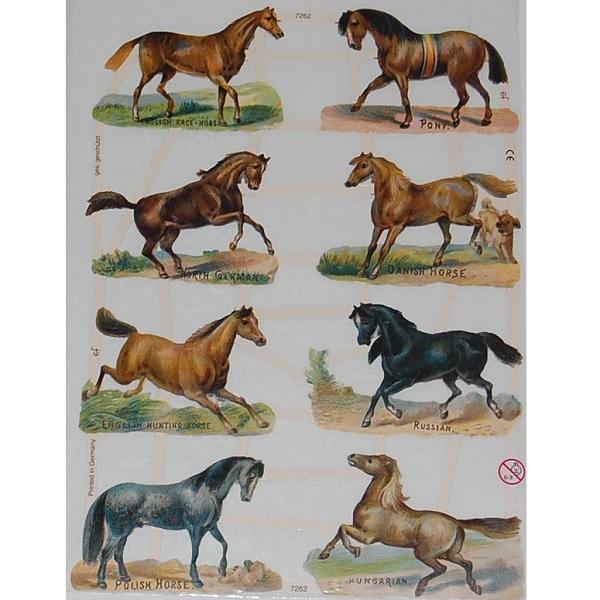 """Bokmärken """"Hästar"""""""