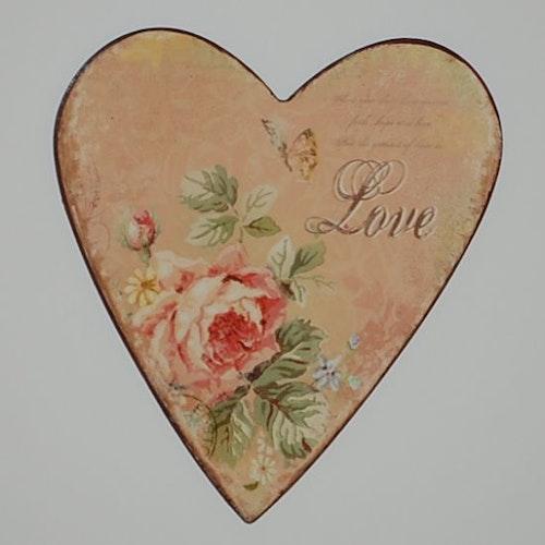"""Magnet hjärta """"Love"""""""
