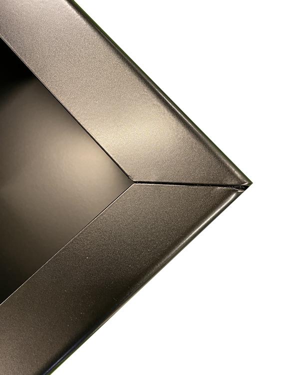 Planteringslåda HORTENSIA Mått: 1500 x 400 x 300 svart