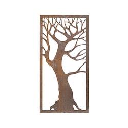 Skärmvägg Träd