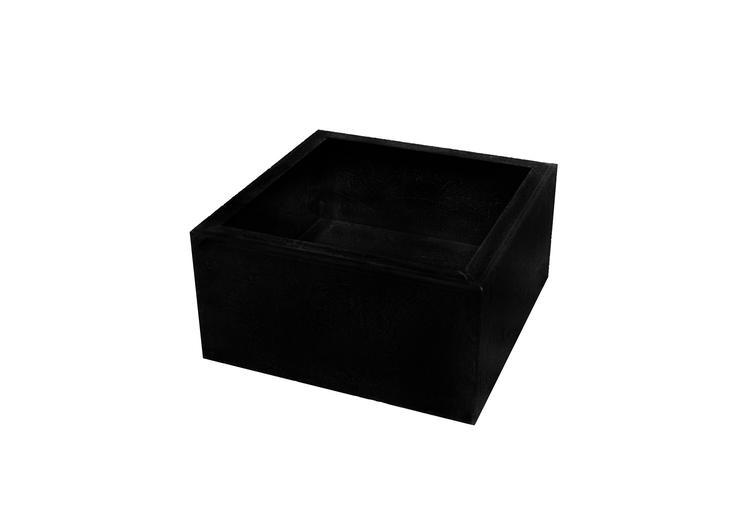 Planteringslåda SYREN Mått: 600 x 600 x300 svart