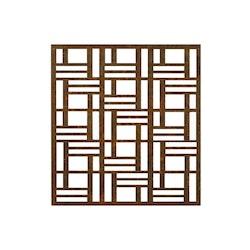 Skärmvägg kvadrat