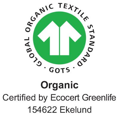Jordgubbar handduk 40x60, 100% Ekologisk Bomull