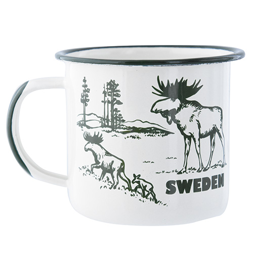 EMALJMUGG ÄLG, SWEDEN