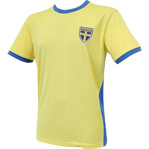 Fotbollströja Sweden  (Barn, Vuxen)
