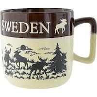 MUGG ÄLG SWEDEN, TVÅTON BRUN
