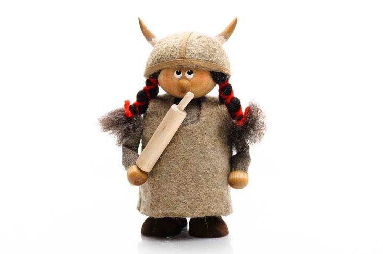 Viking gumma (Svensk handgjord)