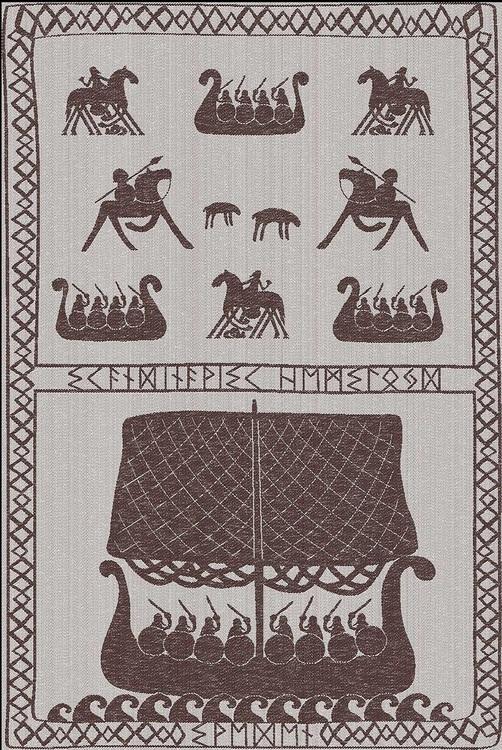 Kökshandduk Vikingar