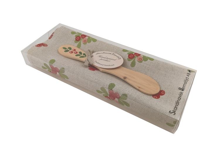 Handduk/smörkniv Lingon