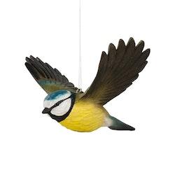 Handsnidad Flygande Blåmes i trä