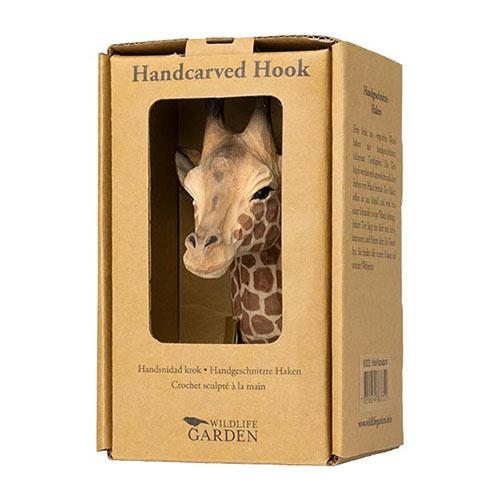 Handsnidad Krok Giraff