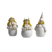 Lucia & Co 3-pack H.4-5cm
