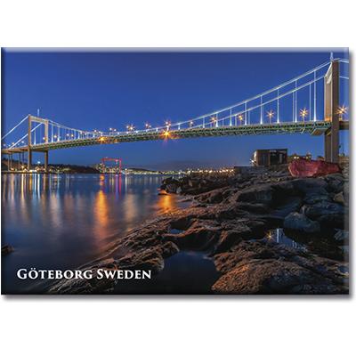 Magnet, Göteborg, Älvsborgsbron, metall