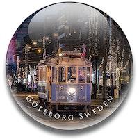 Magnet Göteborg, spårvagn 3,5 cm