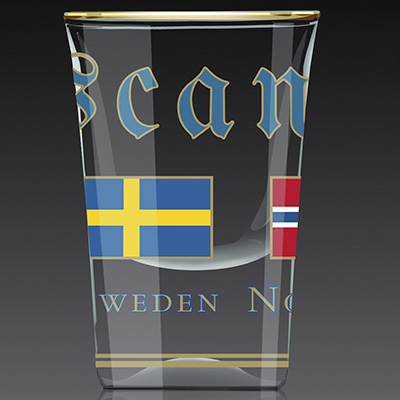 SHOTGLAS:  Scandinavia