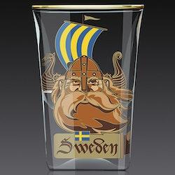SHOTGLAS:  Viking & Svärd