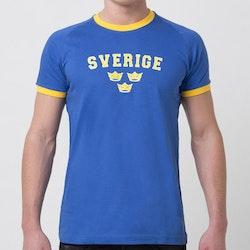 T-SHIRT Sverige blå / gula kronor (Barn / Vuxen)