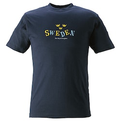 T-SHIRT Sweden kronor,  KIDS
