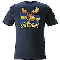 T-SHIRT Älg, flagga  KIDS