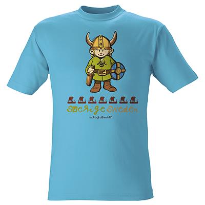 T-SHIRT Viking Blå (Barn)