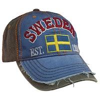 Keps, Sweden, blå/grå