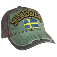 Keps, Sweden, blå/grön